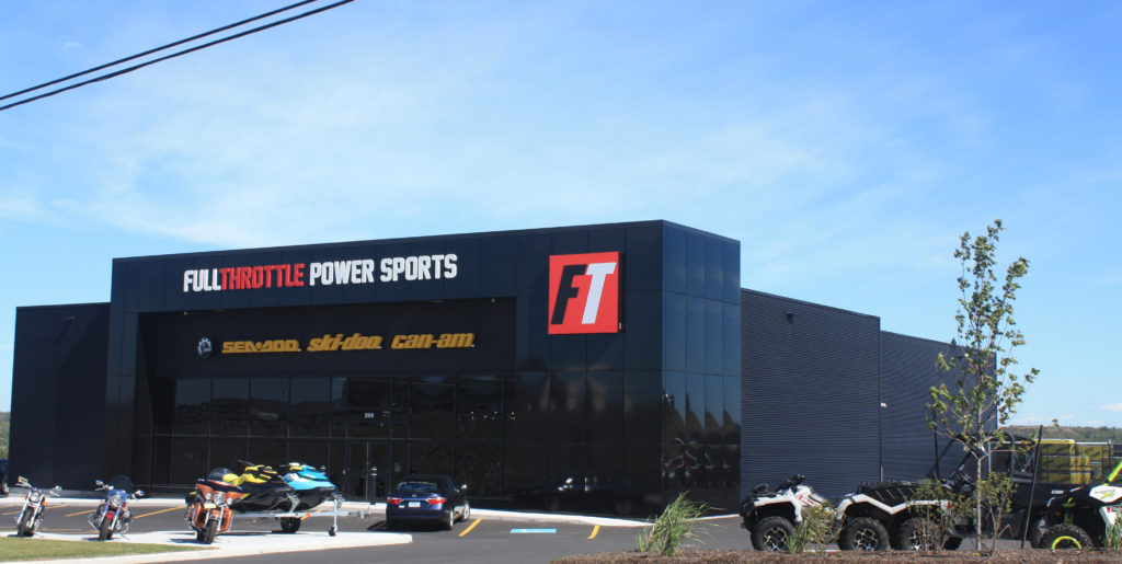 Full Throttle Power Sports Insulated by MJM Energy with Icynene® Spray Foam